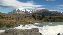 Torres del Paine 17 Stock Footage