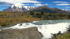 Torres del Paine 16 Stock Footage