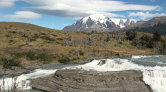 Torres del Paine 15 Stock Footage