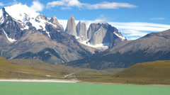 Torres del Paine 12 Stock Footage