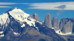 Torres del Paine 11 Stock Footage