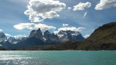 Torres del Paine 4 Stock Footage
