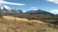 Torres del Paine 1 Stock Footage