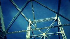 Bridge Girders 4166 Stock Footage