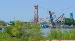 Port of New Orleans Stock Footage