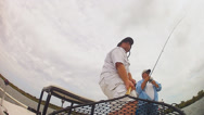 Stock Video Footage of Redfish Saltwater Fishing
