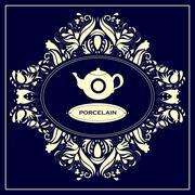 Porcelain - stock illustration