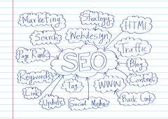 Stock Illustration of seo idea seo search engine optimization