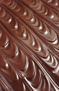 Chocolate icing - background - stock photo