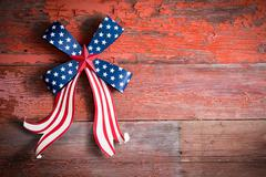 Indepedence day 4th july emblem Stock Photos