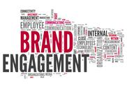 "Stock Illustration of word cloud ""brand engagement"""