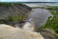 Stock Photo of Montmorency Falls, Quebec, Canada