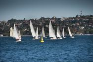 Stock Photo of Sydney Bay, August 2009
