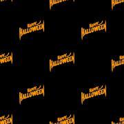 Halloween seamless patterns Stock Illustration