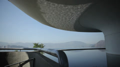 Museum of Modern Art. Niteroi / RJ / Brazil Stock Footage