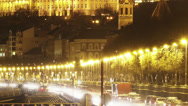 Stock Video Footage of Budapest by Night Timelapse 108