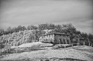 Stock Photo of Tuscan Countryside by Infrared