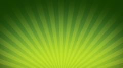 Green Burst Rays Stock Footage