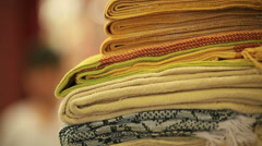 Crafts. Close up. Stock Footage