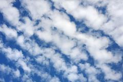 Cloudscape  - only sky and clouds - stock photo