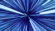 Stock Video Footage of LightSpeed Blue