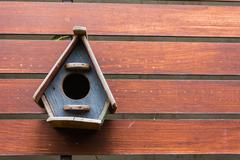 bird house - stock image - stock photo
