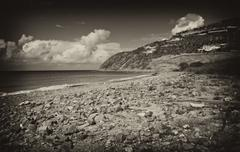 Saint Maarten Island, Dutch Antilles - stock photo