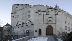 Lienz Castle, Austria - stock photo