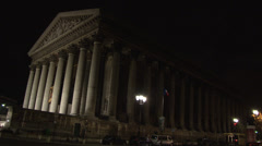 Paris - France - La Madeleine - HD Stock Footage