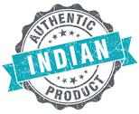 Stock Illustration of indian product blue grunge retro style isolated seal