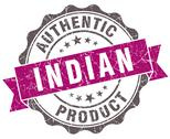 Stock Illustration of indian product violet grunge retro style isolated seal