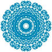 circle ornament. - stock illustration