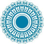 Stock Illustration of circle ornament.