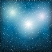 stars highlights. - stock illustration