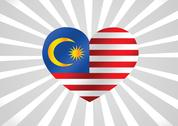 Stock Illustration of malaysia flag themes idea design