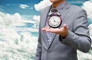 Stock Illustration of give me more time