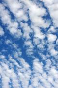 Cloudscape  - only sky and clouds Stock Photos