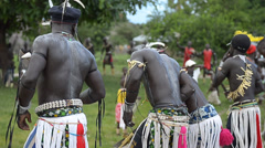 African dancers Stock Footage