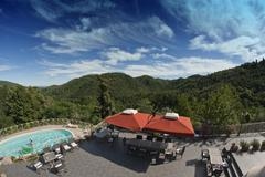 Agriturismo in Tuscany Stock Photos