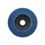 Abrasive disk for grinder isolated on white Stock Photos