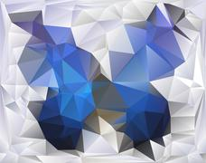 Triangle background Stock Illustration