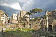 Fori Imperiali, Rome Stock Photos