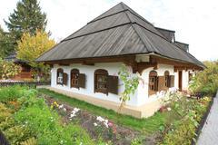 Ivan kotlyarevsky museum. poltava. ukraine Stock Photos