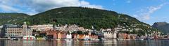 Stock Photo of bergen harbor