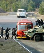 Hostage release operation Kuvituskuvat