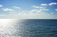 Stock Photo of sea in the sunshine day