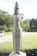 statue of bodhisattva - stock photo