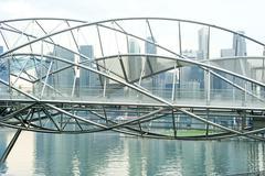 The helix bridge Stock Photos