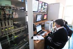 Control center Stock Photos