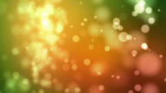 Defocused background. Loopable. Mixed colors. Stock Footage